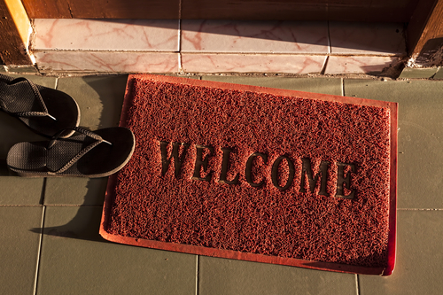 Bad Spare Key Hiding Places Under Welcome Mat